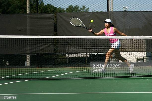 Forehand Crosscourt Volley