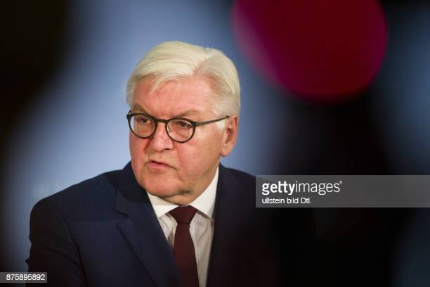 Foreign Minister FrankWalter Steinmeier welcomes his new Croatian official colleague Davor_Stier on 14 December 2016 at the Foreign Office in Berlin...