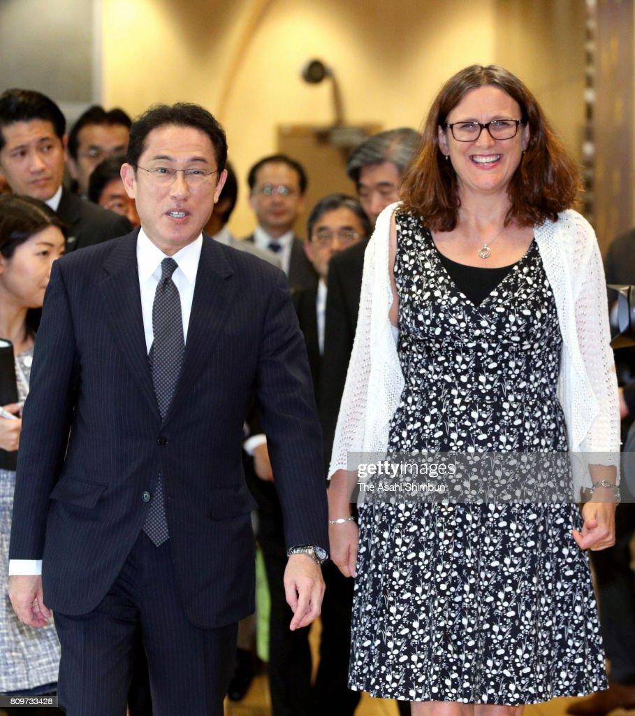 Japanese PM Abe Visits Belgium