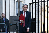 Foreign Secretary Philip Hammond arrives to attend a cabinet meeting at 10 Downing Street on February 23 2016 in London England Prime Minister David...