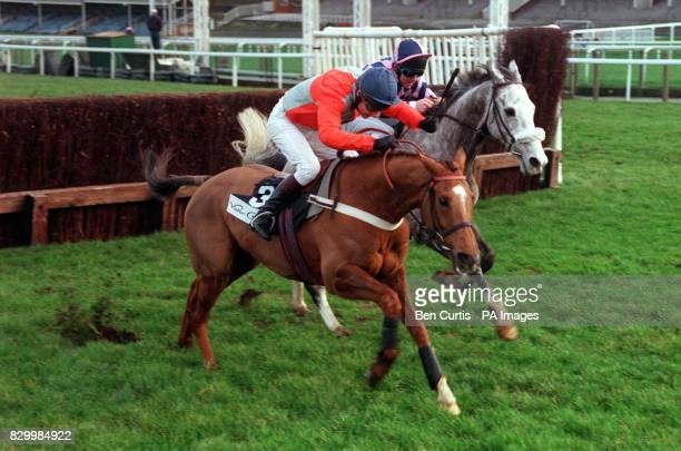 Foreign Secretary Robin Cook's racing tip for the day Celibate ridden by MA Fitzgerald loses his lead at the last fence to come second to Jeffell...