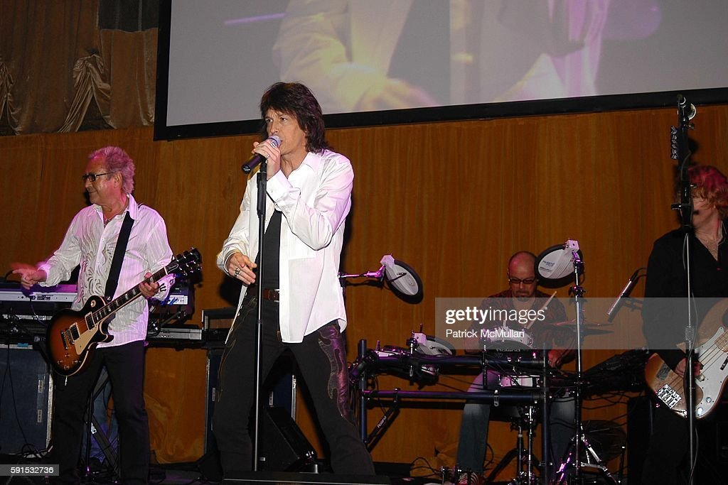 Foreigner attends Caron Foundation's 10th Annual New York City Gala at Ciprani on June 8 2005 in New York City