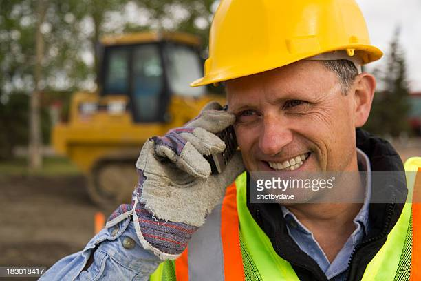Foreman on the Phone