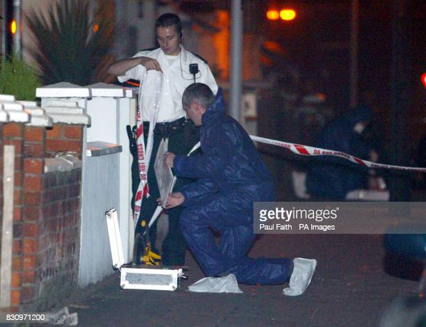 Forensics working at scene of a shooting in East Belfast A man was shot and critically wounded in Belfast amid fears a savage loyalist paramilitary...
