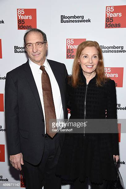 Forest City Ratner founder Bruce Ratner and wife Pamela Lipkin attend Bloomberg Businessweek's 85th Anniversary Celebration at The American Museum of...