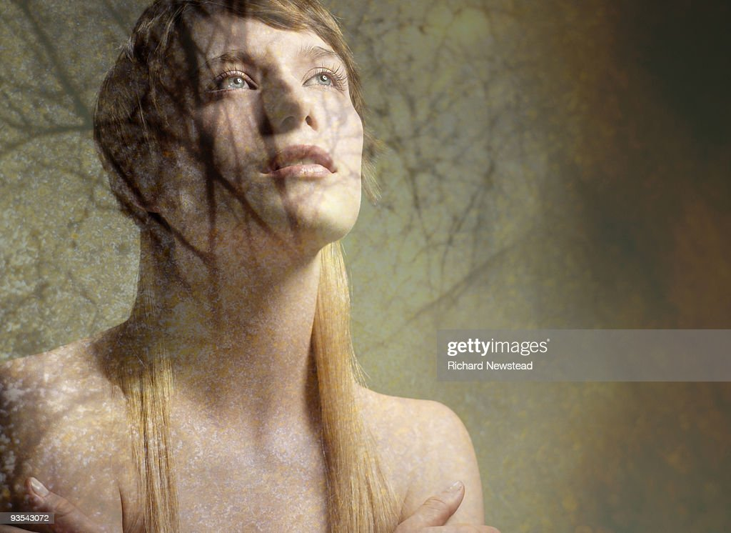 Forest Girl : Stock Photo