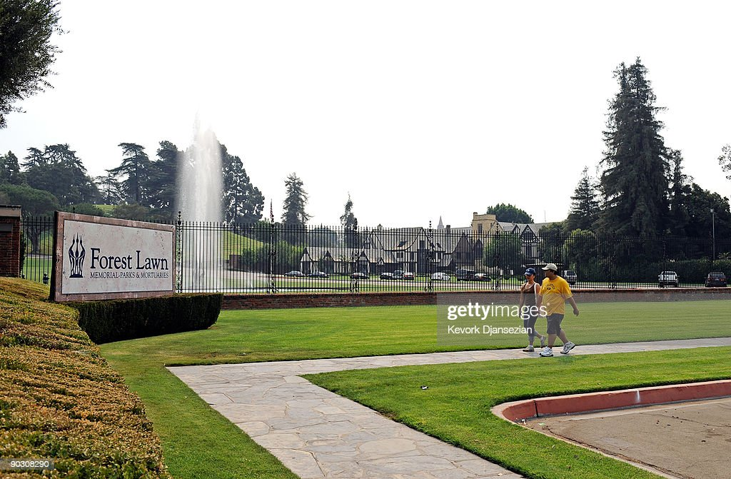 Forest LawnGlendale cemetery is seen September 2 2009 in Glendale California Michael Jackson who died at his home in the Holmby Hills neighborhood of...
