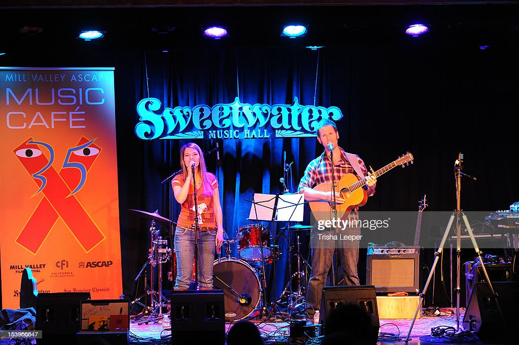 Forest Sun performs at the Mill Valley ASCAP Music cafe at Sweetwater Music Hall on October 11, 2012 in Mill Valley, California.