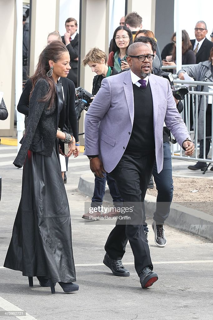 <a gi-track='captionPersonalityLinkClicked' href=/galleries/search?phrase=Forest+Whitaker&family=editorial&specificpeople=226590 ng-click='$event.stopPropagation()'>Forest Whitaker</a> and <a gi-track='captionPersonalityLinkClicked' href=/galleries/search?phrase=Keisha+Whitaker&family=editorial&specificpeople=662393 ng-click='$event.stopPropagation()'>Keisha Whitaker</a> are seen arriving at the 2014 Film Independent Spirit Awards on March 01, 2014 in Los Angeles, California.