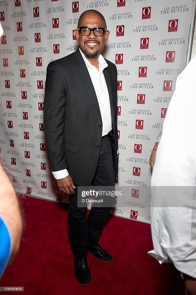 <a gi-track='captionPersonalityLinkClicked' href=/galleries/search?phrase=Forest+Whitaker&family=editorial&specificpeople=226590 ng-click='$event.stopPropagation()'>Forest Whitaker</a> attends 'The Butler' screening at Hearst Tower on July 31, 2013 in New York City.