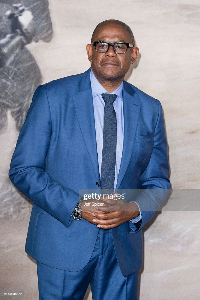 Forest Whitaker attends the launch event for 'Rogue One: A Star Wars Story' at Tate Modern on December 13, 2016 in London, England.