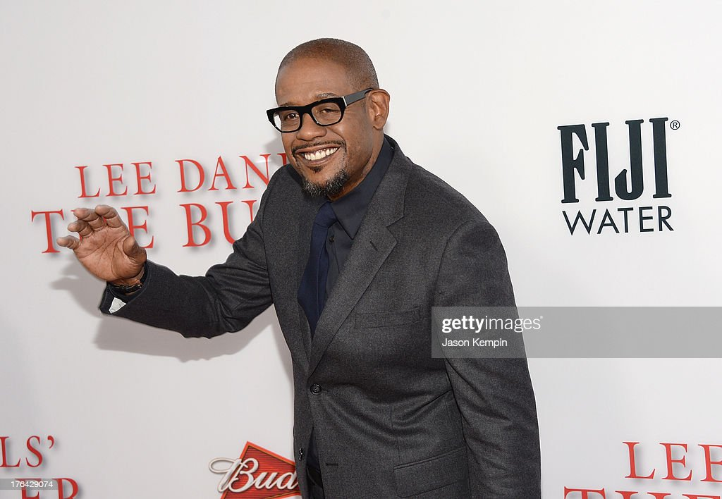 <a gi-track='captionPersonalityLinkClicked' href=/galleries/search?phrase=Forest+Whitaker&family=editorial&specificpeople=226590 ng-click='$event.stopPropagation()'>Forest Whitaker</a> attends the Los Angeles premiere of 'Lee Daniels' The Butler' at Regal Cinemas L.A. Live on August 12, 2013 in Los Angeles, California.