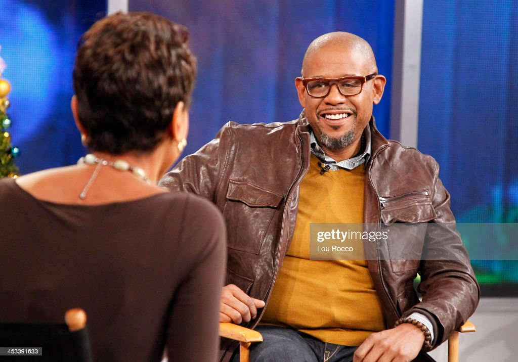 AMERICA - Forest Whitaker is a guest 'Good Morning America,' 12/3/13, airing on the ABC Television Network. ROBIN