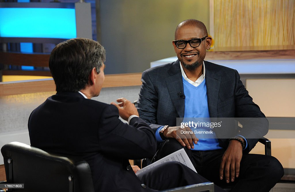AMERICA - Forest Whitaker is a guest on 'Good Morning America,' 8/13/13, airing on the ABC Television Network. GEORGE