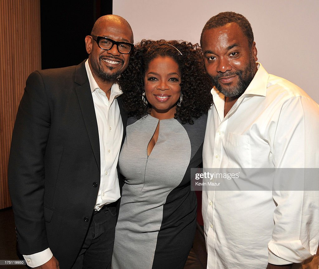 <a gi-track='captionPersonalityLinkClicked' href=/galleries/search?phrase=Forest+Whitaker&family=editorial&specificpeople=226590 ng-click='$event.stopPropagation()'>Forest Whitaker</a>, <a gi-track='captionPersonalityLinkClicked' href=/galleries/search?phrase=Oprah+Winfrey&family=editorial&specificpeople=171750 ng-click='$event.stopPropagation()'>Oprah Winfrey</a> and <a gi-track='captionPersonalityLinkClicked' href=/galleries/search?phrase=Lee+Daniels&family=editorial&specificpeople=209078 ng-click='$event.stopPropagation()'>Lee Daniels</a> attend the O, The Oprah Magazine's special advance screening of '<a gi-track='captionPersonalityLinkClicked' href=/galleries/search?phrase=Lee+Daniels&family=editorial&specificpeople=209078 ng-click='$event.stopPropagation()'>Lee Daniels</a>' The Butler' at The Hearst Tower on July 31, 2013 in New York City.