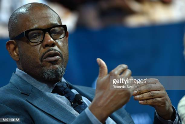 Forest Whitaker UNESCO Special Envoy for Peace speaks at The 2017 Concordia Annual Summit at Grand Hyatt New York on September 18 2017 in New York...