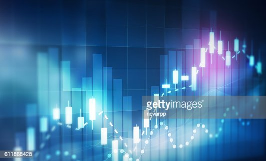 forex trading background : Stock Photo