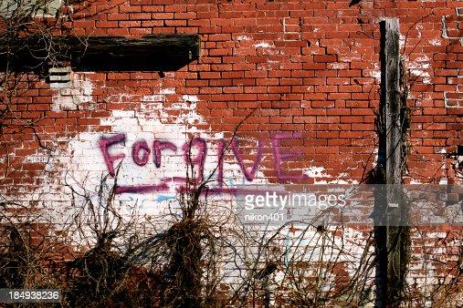 Forgive Graffiti