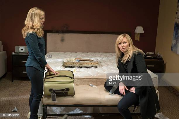 UNIT 'Forgiving Rollins' Episode 1611 Pictured Dreama Walker as Reese Michel Kelli Giddish as Detective Amanda Rollins