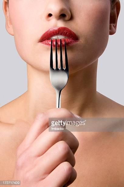 Fork et les lèvres