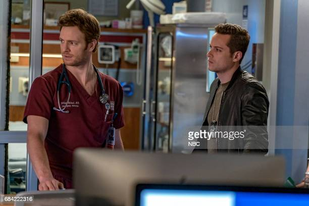 D 'Fork In The Road' Episode 423 Pictured Nick Gehlfuss as Will Halstead Jesse Lee Soffer as Jay Halstead