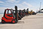 Fork lift fleet