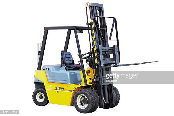 Forklift (isolated)