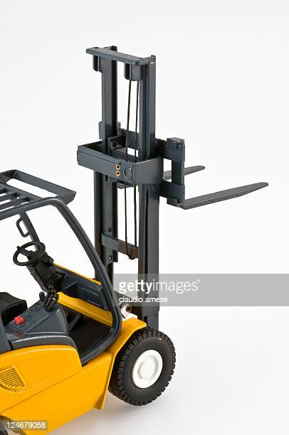 Forklift toy. color image