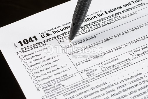 form 1041 us income tax return for estates and trusts united states