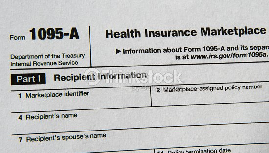 Irs Form 1095 Relating To Health Insurance Stock Photo Thinkstock