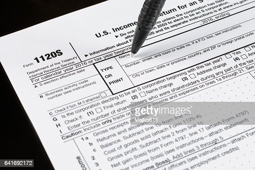 form 1120s us income tax return for an s corporation united states
