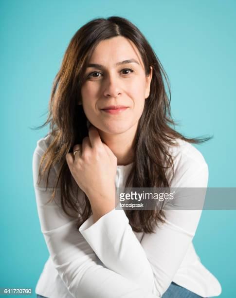 formal corporate portrait of a businesswoman