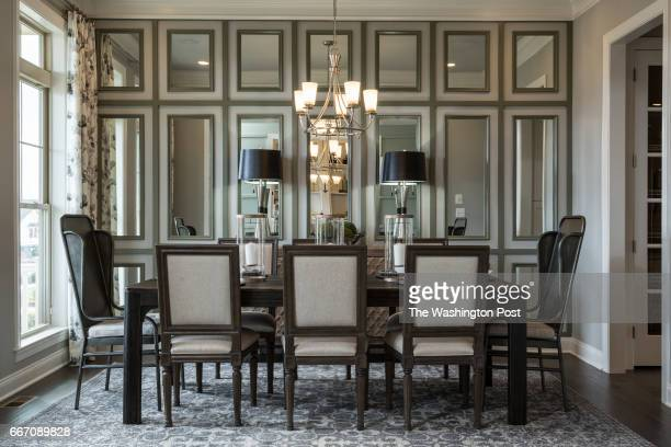 Formal Dining Room in the Tradition Model at Regency at Creekside on March 28 2017 in Gainesville Virginia