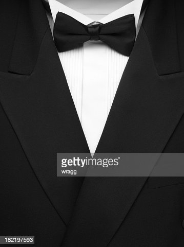 Formal Dinner Jacket and Bow Tie