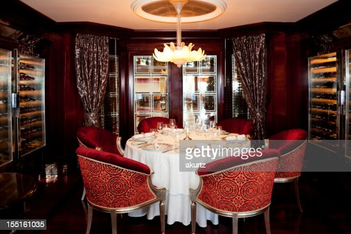 Formal Elegant Dining Room table set for service of six