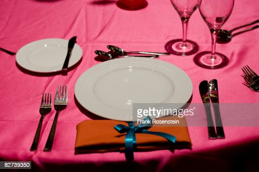Formal place setting : Stock Photo