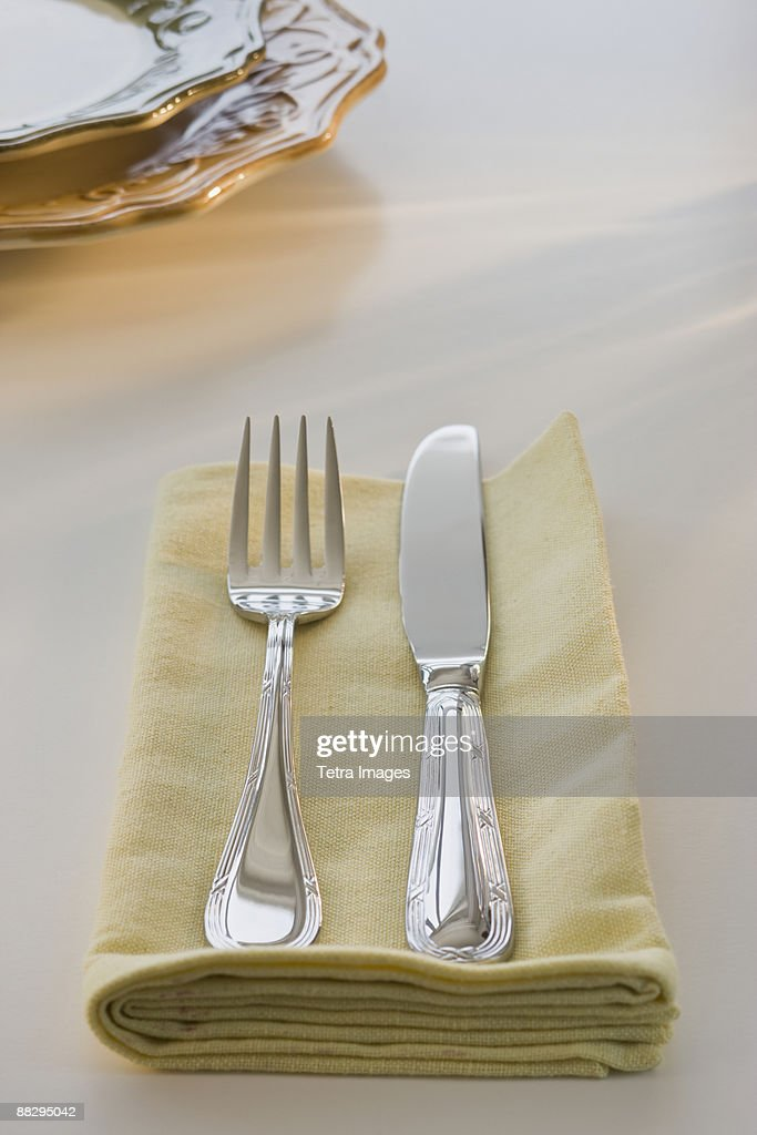 Formal placesetting : Stock Photo