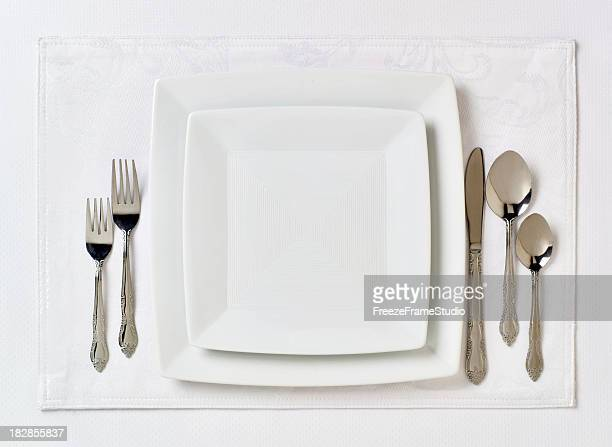 Formal table place setting 2