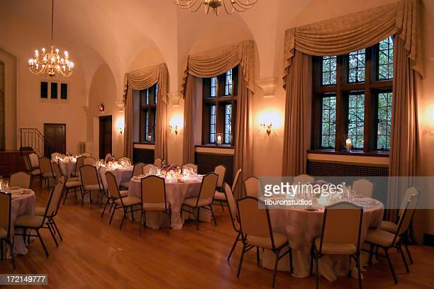 Formal Wedding Dinner Interior