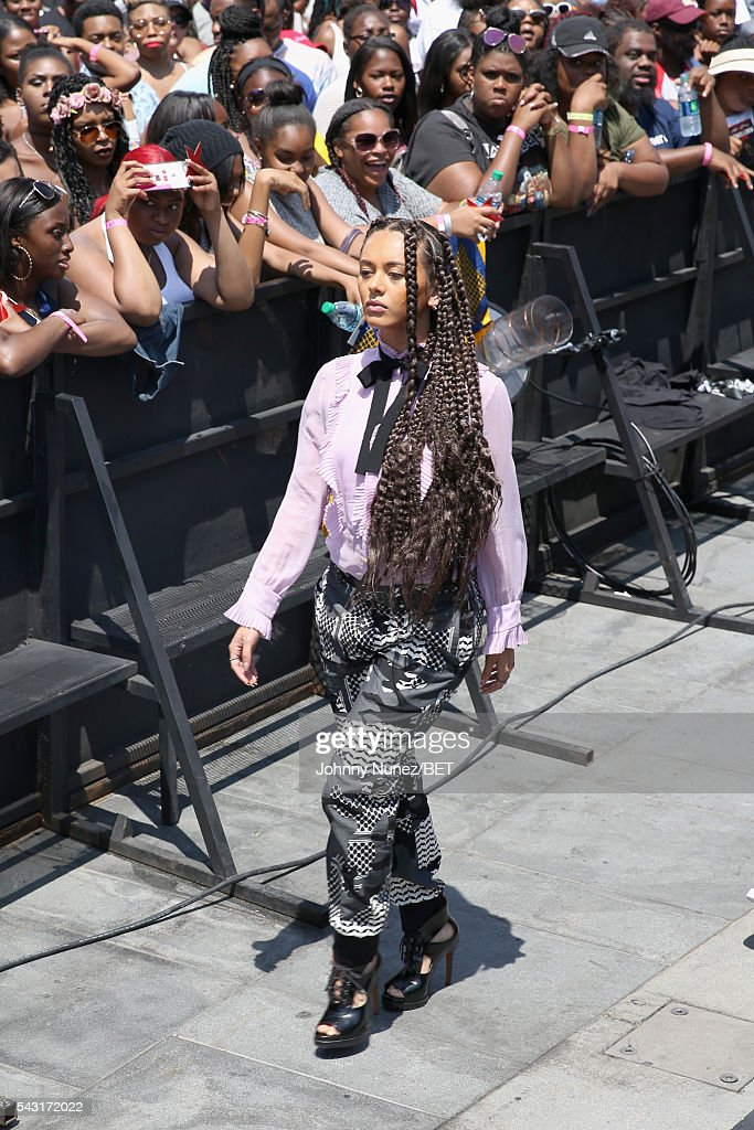 A Formation Dancer attends the 2016 BET Awards at the Microsoft Theater on June 26, 2016 in Los Angeles, California.