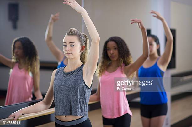 Formation During Ballet Class