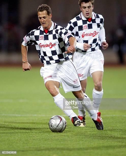 Formel 1 Charity Fussball Spiel mit Michael Schumacher Fernando Alonso und Giancarlo Fisichella ©Kunkel/HOCH ZWEI