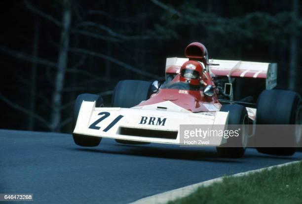 Formel 1 Grand Prix Deutschland 1973 Nuerburgring Nordschleife Niki Lauda BRM P160E Sprung wwwhochzweinet copyright HOCH ZWEI / Ronco