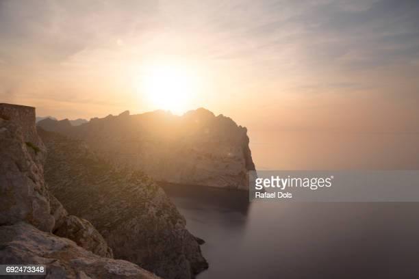 Formentor peninsula at sunset - Majorca, Spain