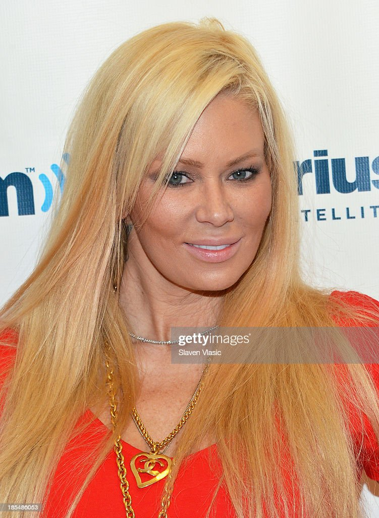 Former adult actress <a gi-track='captionPersonalityLinkClicked' href=/galleries/search?phrase=Jenna+Jameson&family=editorial&specificpeople=206496 ng-click='$event.stopPropagation()'>Jenna Jameson</a> visits SiriusXM Studios on October 21, 2013 in New York City.