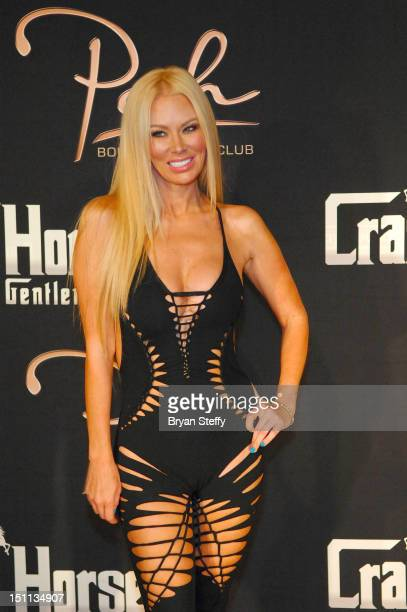 Former adult film actress Jenna Jameson arrives at the Crazy Horse III Gentleman's Club at Playground on September 1 2012 in Las Vegas Nevada