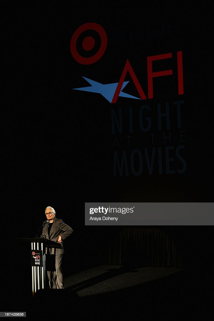 Former AFI CEO Jean Picker Firstenberg presenting 'Norma Rae' at Target Presents AFI's Night at the Movies at ArcLight Cinemas on April 24, 2013 in Hollywood, California.