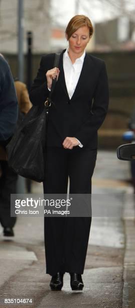 Former air stewardess Rachel Quinn 29 from Killingworth Newcastle upon Tyne arrives at an employment tribunal in Southampton The air stewardess...