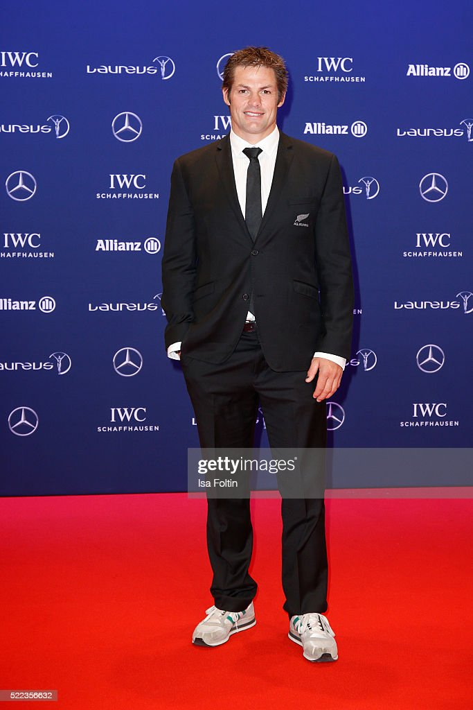 Former All Black Richie McCaw attends the Laureus World Sports Awards 2016 on April 18, 2016 in Berlin, Germany.