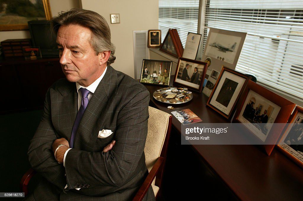Former ambassador Joseph C Wilson IV sits in his Washington DC law office Wilson was asked by the CIA to go to Niger in 2002 to look into claims...